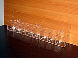 Диспенсер демонстратор для конфет 755х100х100 8 ячеек, фото 3