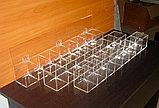 Диспенсер демонстратор 755х100х100 24 ячейки 3-х ярусный для конфет , фото 3
