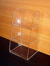 Подставка под товар витрина трехярусная 250х200х450