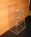 Подставка под товар витрина трехярусная 250х200х450, фото 2
