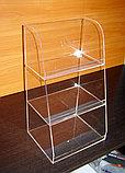 Подставка под товар витрина трехярусная 250х200х450, фото 4