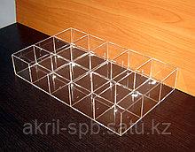 Короб 15 ячеек для ластиков и мелочей