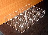 Короб 15 ячеек для ластиков и мелочей, фото 4