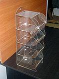 Диспенсер для снеков орехов 4-х ярусный, фото 4