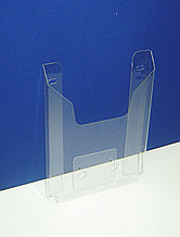Карман буклетница настенная А5 вертикальный 15 мм 0,7 ПЭТ