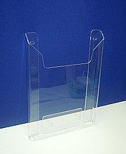 Карман буклетница А4 (акрил, на саморезы) верт