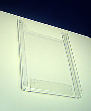 Карман буклетница настенная А3 верт, 20мм, акрил 2мм