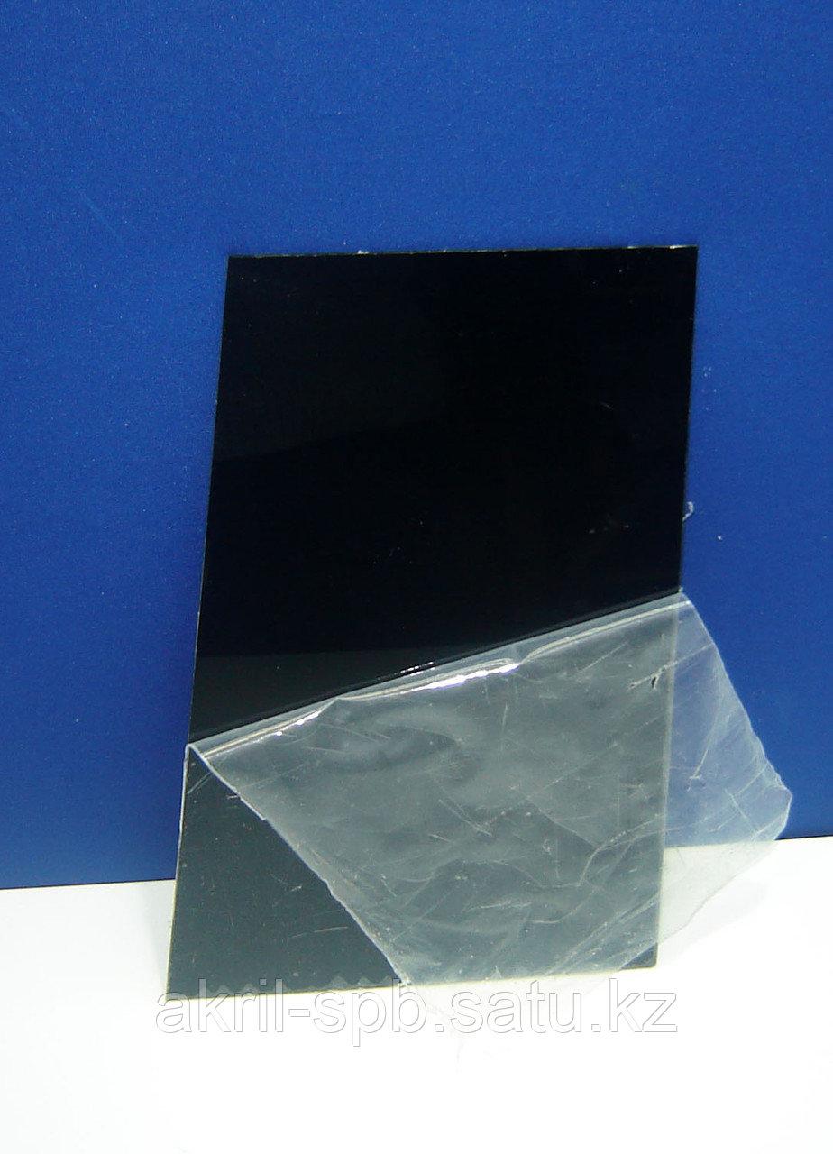 Оргстекло 3мм черное глянцевое