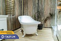Ванна мрамор Venezia 180*80 с фар. цветной. (желтый с блесками) L, фото 1