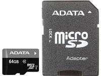 Карта памяти ADATA AUSDX64GUICL10-RA1 64 GB