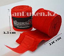 Боксерский бинт HAYABUSA красный 2 штуки 3.5 м (Made in Pakistan)