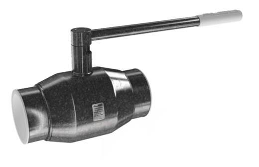 Кран шаровый стальной под приварку DN125 Also Россия