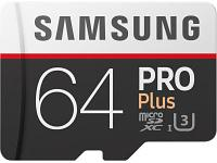 Карта памяти Samsung PRO Plus MB-MD64GA/RU