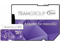Карта памяти Team Group Color Card TCUSDX64GUHS41 64Gb