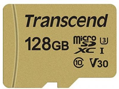 Карта памяти Transcend TS128GUSD500S 128GB
