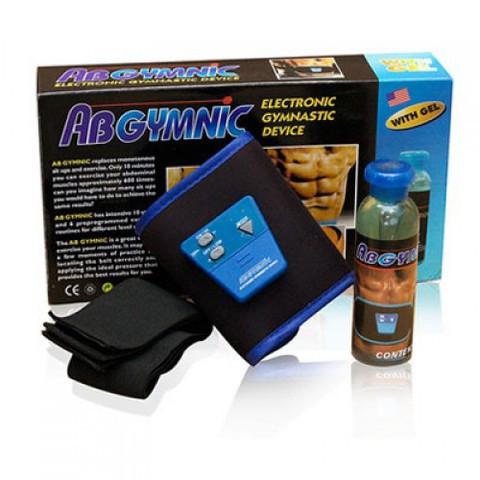Пояс-миостимулятор AbGymnic+ [АбДжимник+] с гелем