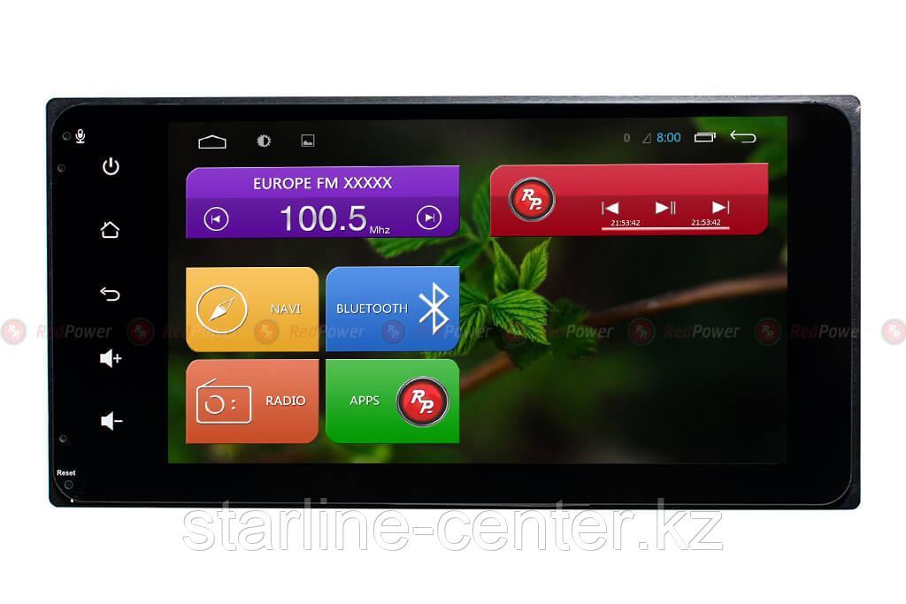 Автомагнитола универсальная Toyota Redpower 31071 IPS DSP ANDROID 7