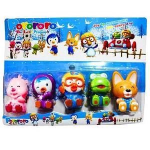 Набор резиновых игрушек «Пингвиненок Пороро и его друзья»