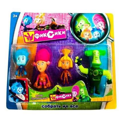 Набор светящихся игрушек-героев мультфильма «Фиксики» 18008, фото 2
