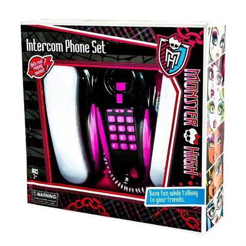 Игрушка телефонная связь проводная Monster High