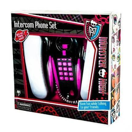 Игрушка телефонная связь проводная Monster High, фото 2
