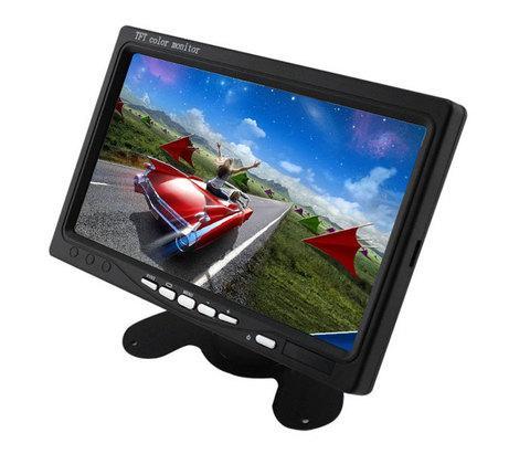 """Монитор автомобильный с возможностью встраивания в подголовник [7"""" TFT-LCD]"""