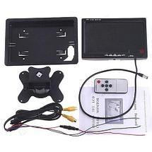 """Монитор автомобильный с возможностью встраивания в подголовник [7"""" TFT-LCD], фото 3"""