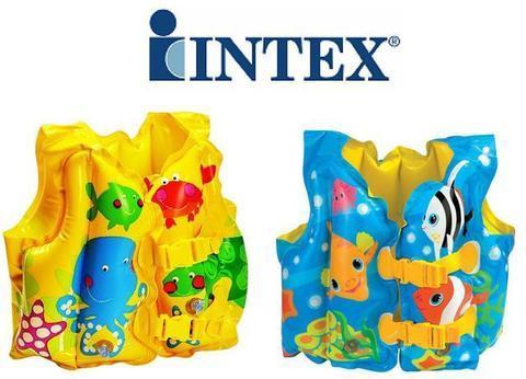 Жилет надувной для плавания «Забавные рыбки» INTEX 59661