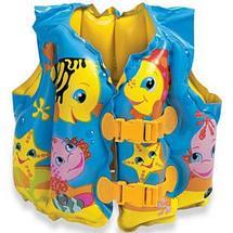 Жилет надувной для плавания «Забавные рыбки» INTEX 59661, фото 2