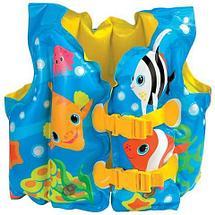 Жилет надувной для плавания «Забавные рыбки» INTEX 59661, фото 3