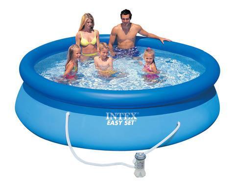Бассейн 305x76см INTEX 28122/56922 Easy Set Pool + фильтр-насос