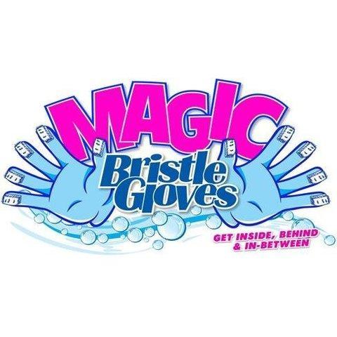 Перчатки-щётки Magic Bristle Gloves