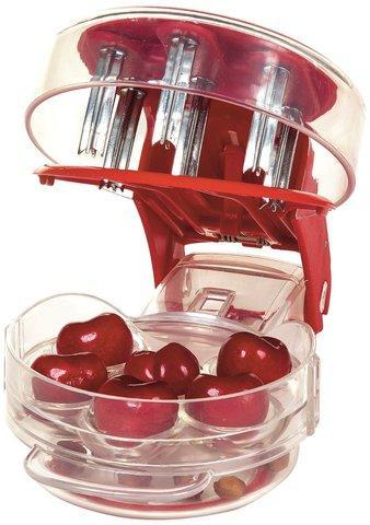 Прибор для удаления косточек 2-в-1 Progressive Cherry Pitter