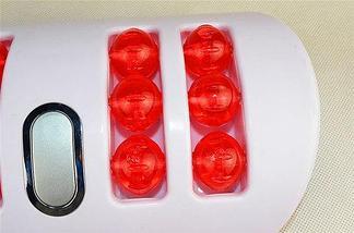 Вибромассажер роликовый для ног ECHO Dual Vibrating, фото 2