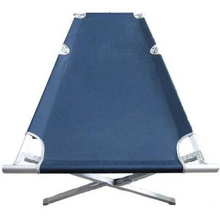 Кровать раскладная кемпинговая компактная с чехлом, фото 2