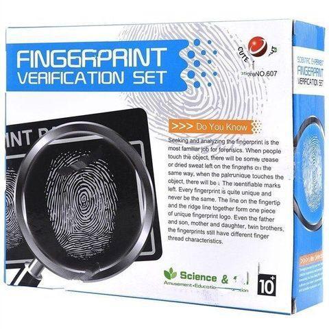 Набор для снятия отпечатков пальцев «Детективная наука»