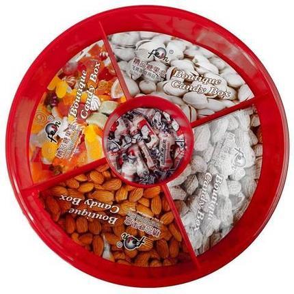 Контейнер-менажница для орехов, сухофруктов, конфет и сладостей Boutique Candy Box, фото 2
