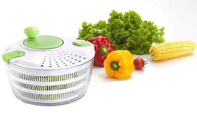 Центрифуга для мытья и обсушки салатных листьев и зелени Salad Spinner