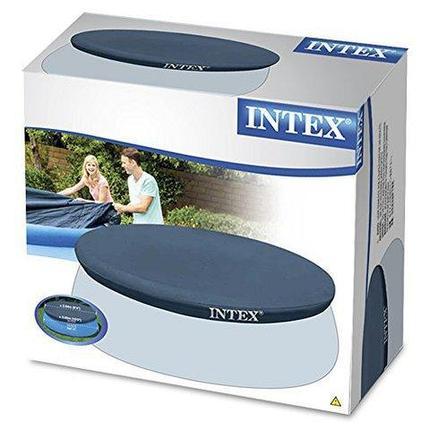 Тент-крышка для надувного бассейна диаметром 305 см INTEX 28021, фото 2