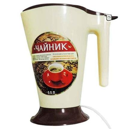 Мини-чайник электрический с ложкой ТУ 5155-001 [0,5 л.], фото 2