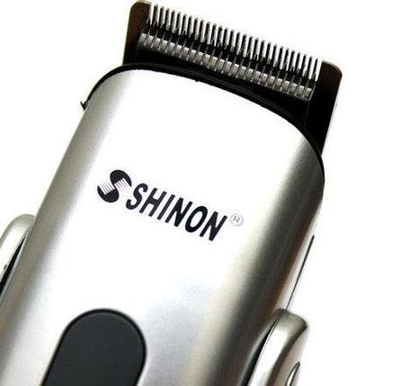 Беспроводная машинка-триммер для стрижки и бритья SHINON SH-1773 8-в-1, фото 2