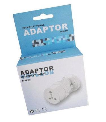 Адаптер-переходник международный для розеток и вилок всех типов для путешествий, фото 2