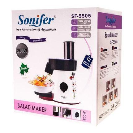 Мультирезка [измельчитель, ломтерезка, шинковка] Sonifer SF-5505, фото 2
