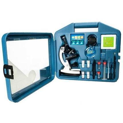 Лаборатория в чемодане: микроскоп 1200х с набором принадлежностей [28 предметов], фото 2