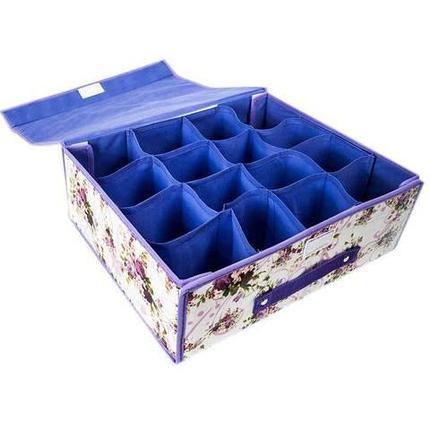 Органайзер для вещей с крышкой с 16-ю ячейками, фото 2