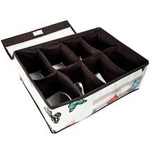 Органайзер для вещей с крышкой с 8-ю ячейками Jemei 15010, фото 2