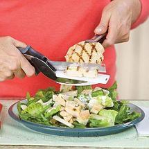 Нож-ножницы с разделочной доской 2-в-1 SMART CUTTER, фото 3