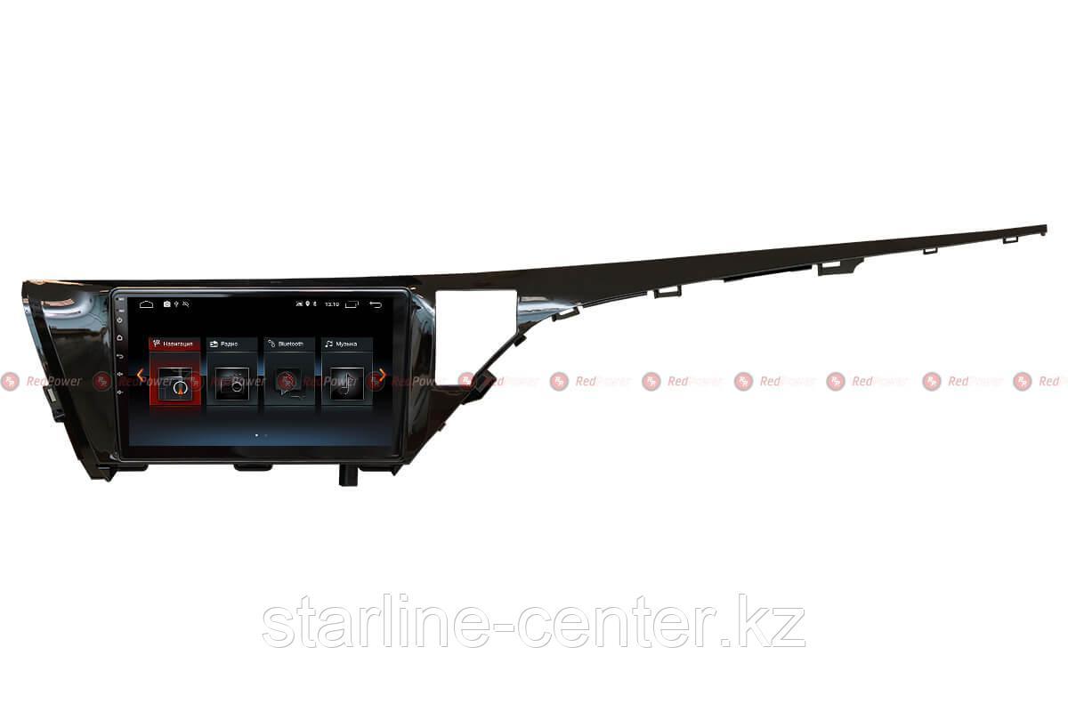 Автомагнитола для Toyota Camry XV70 2018 + RedPower 30331 IPS ANDROID 8