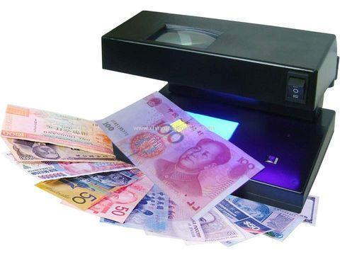 Детектор валюты УФ, магнитный и водяных знаков с увеличительным стеклом AD-2038, фото 2