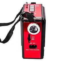 Портативная акустическая система - радиоприёмник MRM-6118T, фото 2
